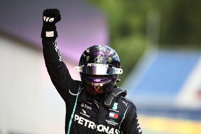 """Льюис Хэмилтон. Фото """"Формула-1"""""""