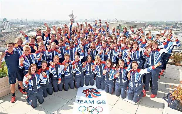 Олимпийская сборная Великобритании-2012. Фото The Telegraph