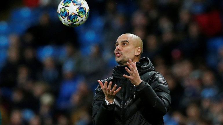 Хосеп Гвардьола и «Манчестер Сити»: опять вЛиге чемпионов. Фото Reuters
