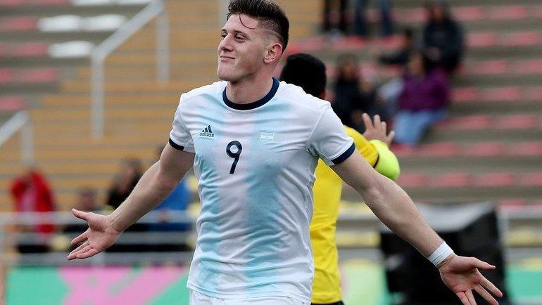 Адольфо Гайча всоставе молодежной сборной Аргентины. Фото Instagram