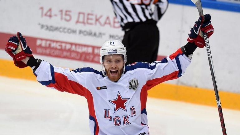 Михаил Григоренко. Фото photo.khl.ru