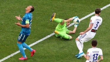 «Зенит»— «Оренбург»: все голы матча