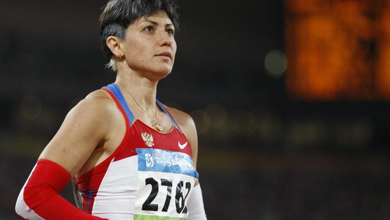 Татьяна Лебедева. Фото AFP