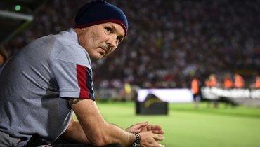 Михайлович извинился перед болельщиками заразгромное поражение от «Милана»