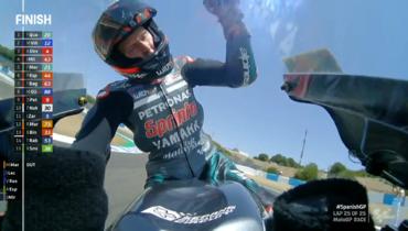 Француз Куартараро выиграл стартовый этап сезона MotoGP