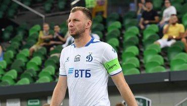 «Краснодар» вменьшинстве уступил «Динамо» вперенесенном матче