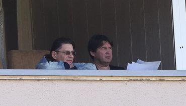 Шамиль Газизов (справа) иЛеонид Федун.