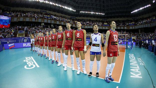 Сборная России поволейболу. Фото FIVB
