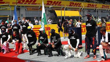 Боттас рассказал, почему онвстает наодно колено перед гонками