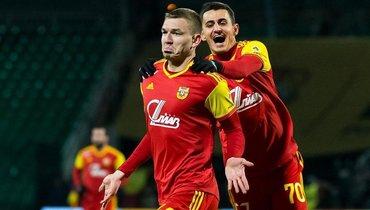 Нападающий Евгений Луценко за29 туров забил 15 голов всоставе «Арсенала».