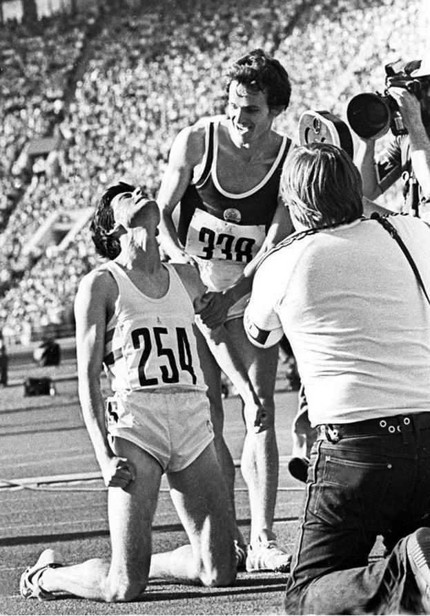 Соревнования Олимпиады-80. Фото Ефим Шаинский