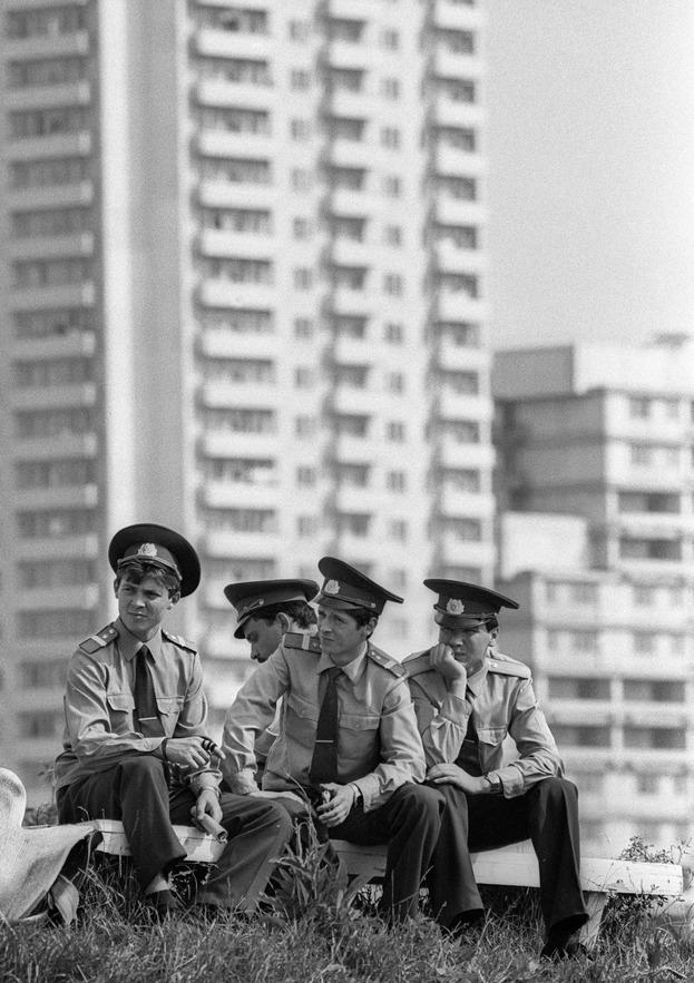Антураж Олимпиады-80. Фото Сергей Киврин