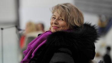 Тарасова помогает Медведевой работать над короткой программой вМоскве