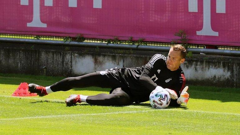 Мануэль Нойер. Фото Bayern & Germany.