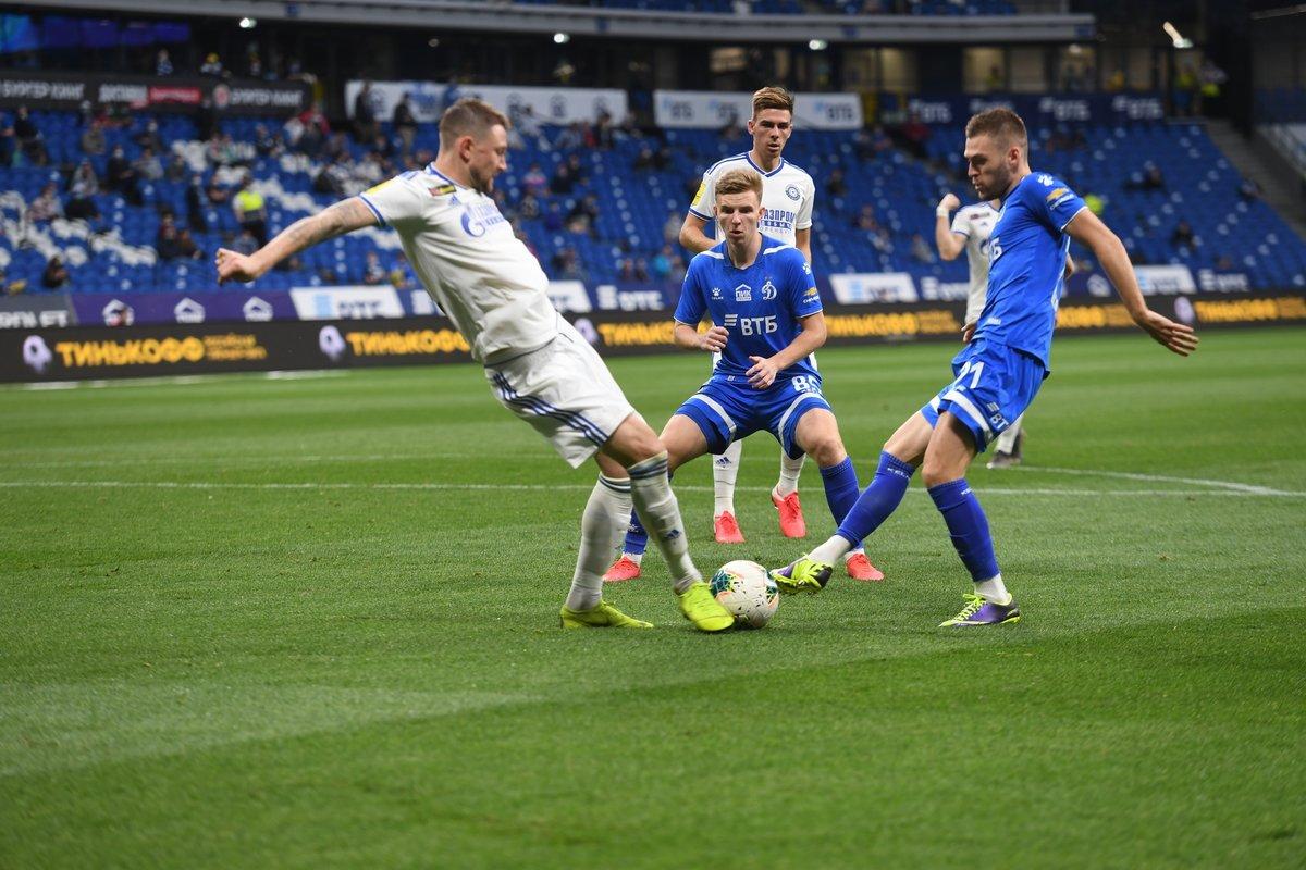 «Динамо»— «Оренбург»: игра, вкоторой никому ничего небыло нужно