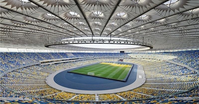 Олимпийский стадион в Киеве. Фото stadium.com