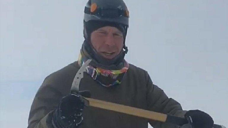 Альпинист Илья Цветков.