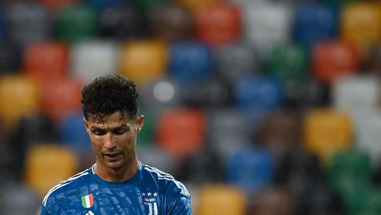 Криштиану Роналду наэтот раз незабил. Фото AFP