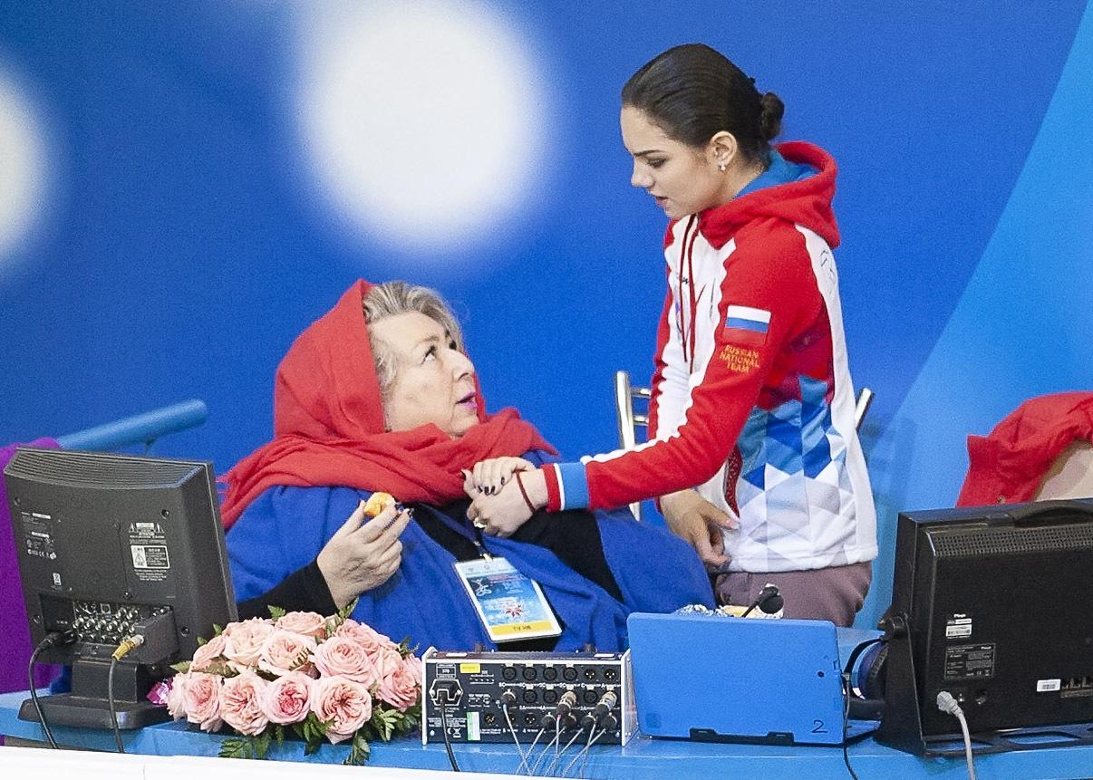 Почему Татьяна Тарасова работает с Евгенией Медведевой. Кто тренирует фигуристку. Фигурное катание Спорт-Экспресс
