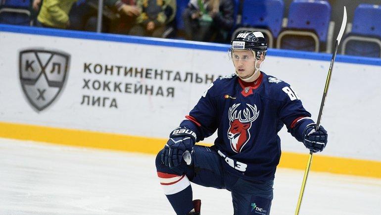 Дамир Жафяров. Фото photo.khl.ru