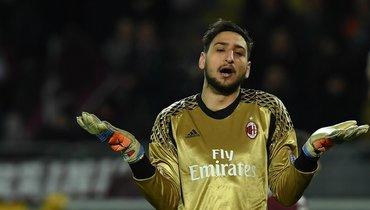 Доннарумма горд стать капитаном «Милана» иобещает биться досмерти запятое место