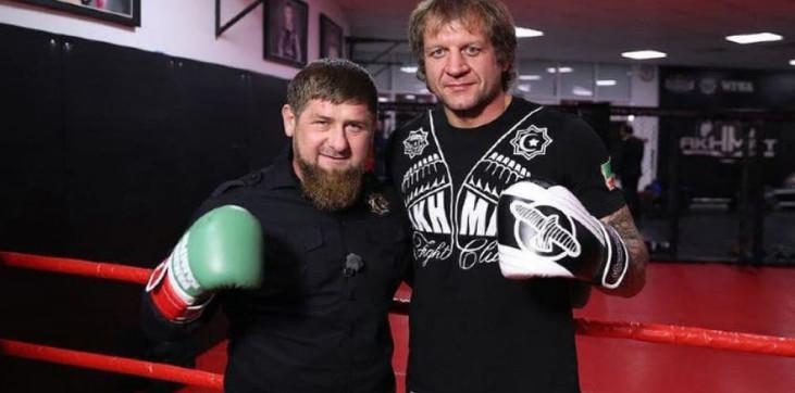 Рамзан Кадыров и Александр Емельяненко. Фото Instagram