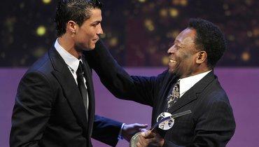 Пеле поздравил Роналду счемпионством «Ювентуса»