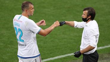 Неназвал «Спартак» конкурентом, рассказал обумном Дзюбе ихудшем дне «Зенита». Очем говорил Семак