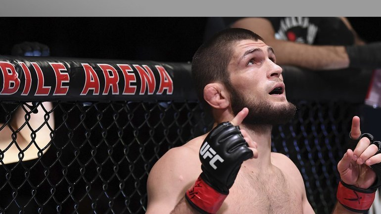 Хабиб Нурмагомедов. Фото UFC
