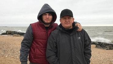 Хабиб впервые после смерти отца объявил, что возвращается ктренировкам