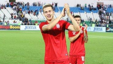 «Динамо» и «Уфа» договорились потрансферу Фомина