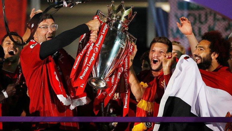 «Ливерпуль»— чемпион Англии сезона 2019/2020. Фото AFP