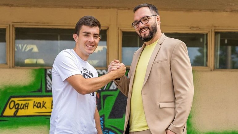 Илья Берковский (слева). Фото ФК «Торпедо»