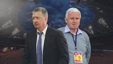 Дмитрий Шляхтин иЕвгений Загорулько.