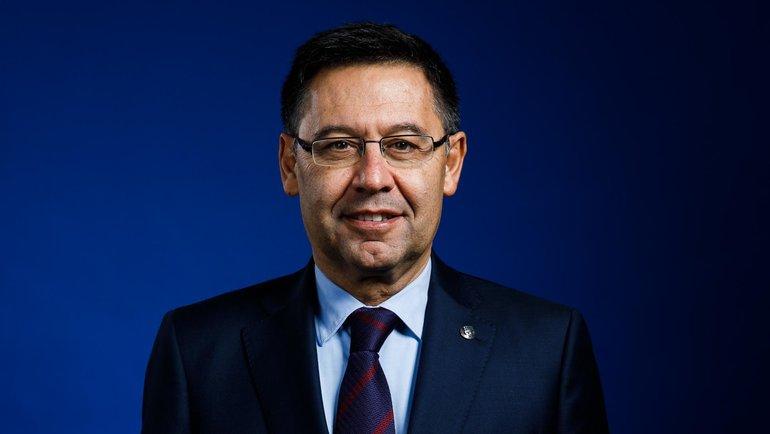 """Хосеп Мария Бартомеу. Фото ФК """"Барселона""""."""