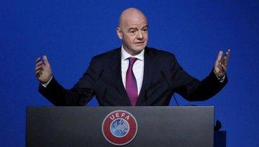 ВШвейцарии открыли уголовное дело вотношении президента ФИФА Инфантино