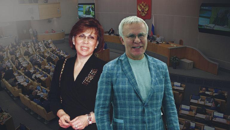 Ирина Роднина, Вячеслав Фетисов.