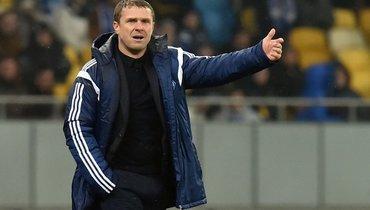Ребров посетил базу киевского «Динамо». Почему— неизвестно