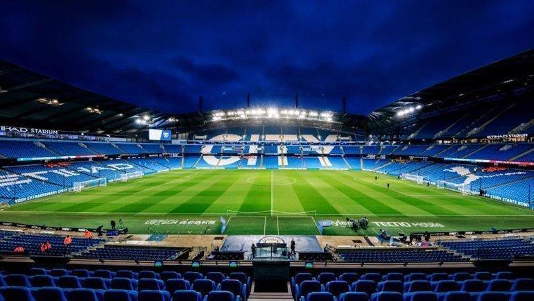 Стадион «Манчестер Сити». Фото Twitter.