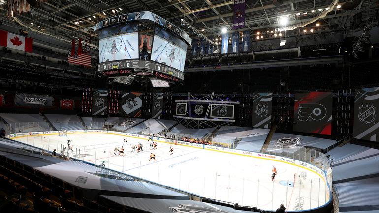 1августа вТоронто иЭдмонтоне возобновится сезон НХЛ. Фото Chase Agnello-Dean/NHLI, USA Today Sports