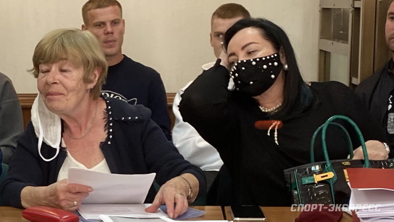 """Представитель Александра Кокорина Татьяна Стукалова. Фото """"СЭ"""""""