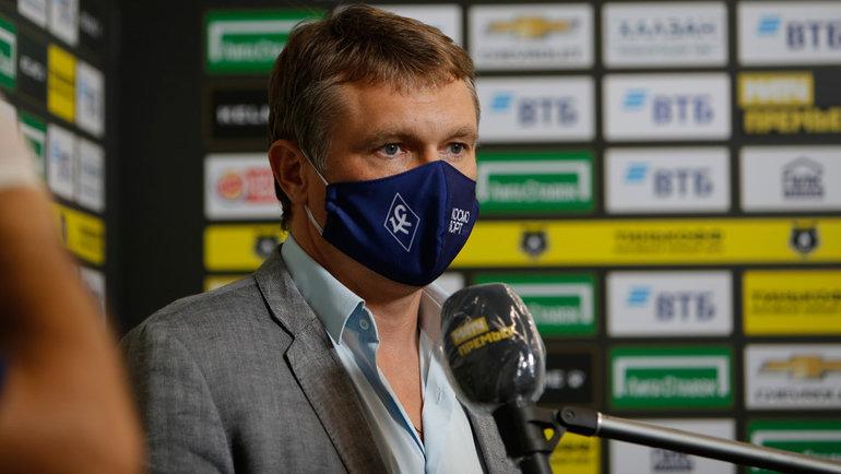 Андрей Талалаев. Фото ФК «Крылья Советов».
