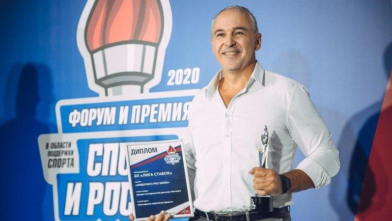 Заместитель генерального директораБК «Лига Ставок» Игорь Столяров.