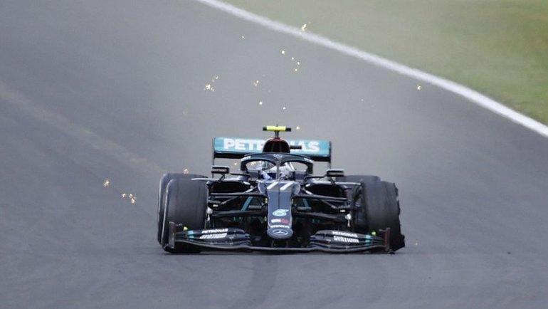 "Валттери Боттас. Фото ""Формула-1""."