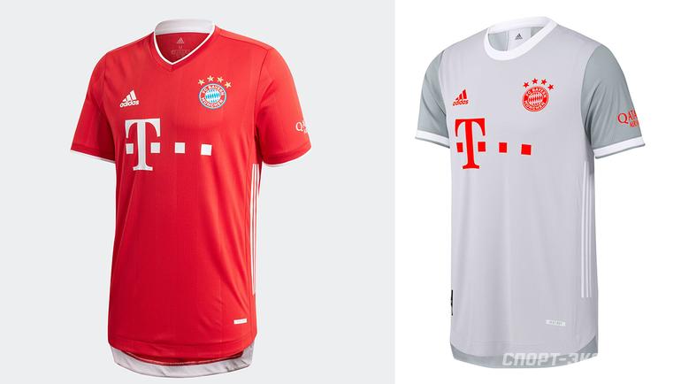 Домашняя игостевая формы «Баварии» сезона 2020/21.