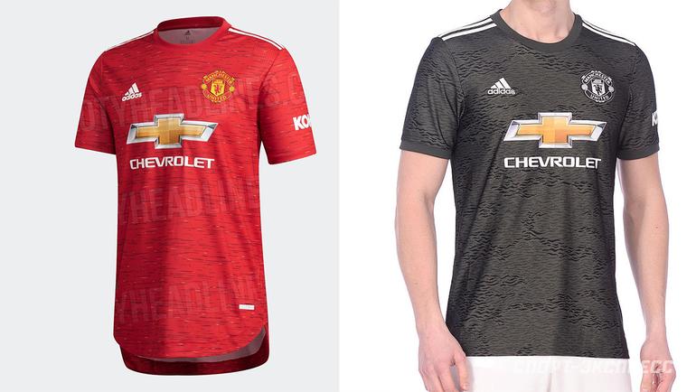 Домашняя игостевая формы «Манчестер Юнайтед» сезона 2020/21.