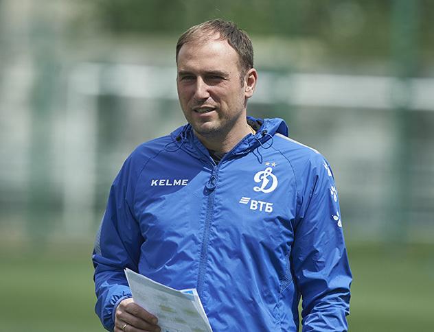 Кирилл Новиков. Фото ФК «Динамо».