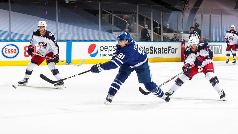 «Торонто» и «Коламбус» проведут второй матч квалификационного раунда. Фото twitter.com/MapleLeafs