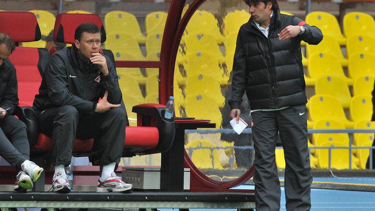 Игорь Ледяхов и Дмитрий Гунько. Фото Алексей Иванов, -