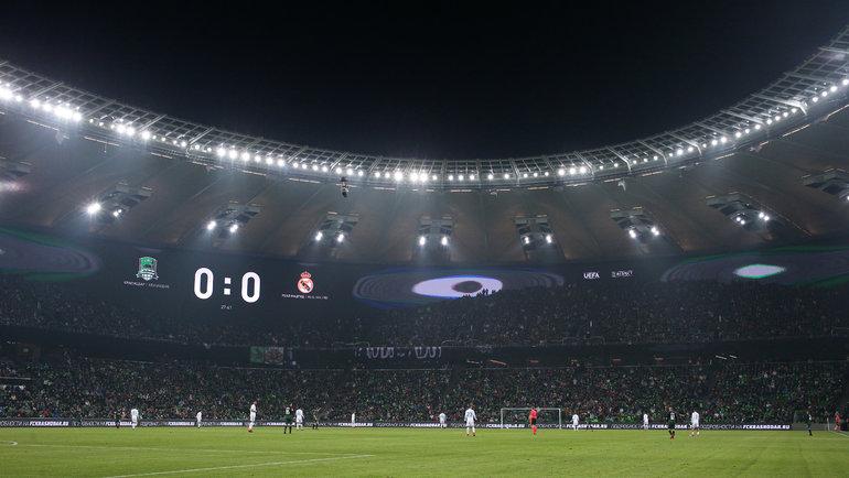 «Краснодар» второй сезон подряд стартует вотборе Лиги чемпионов. Фото Виталий Тимкив